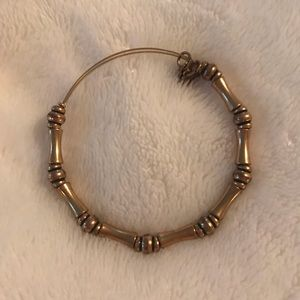 Alex and Ani Bamboo Gold Bracelet